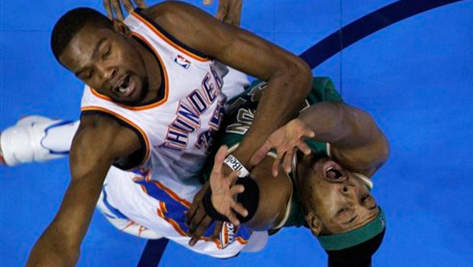 Durant y Paul Pierce